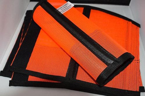 NEW... All purpose LINED, Fetlock Protection, Sassari Legging Orange