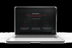Laptop w- 3D Website