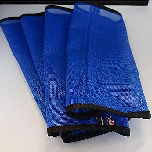 Fly Wraps, Sassari leggings SET OF 4 Royal Blue, Tapered Cut or Straight Cut