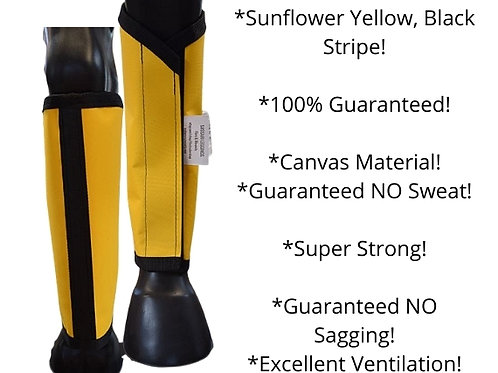 Fly Leggings, Fly Wraps, Fly Protection, Fly boots, Sassari leggings,  SET OF 4,