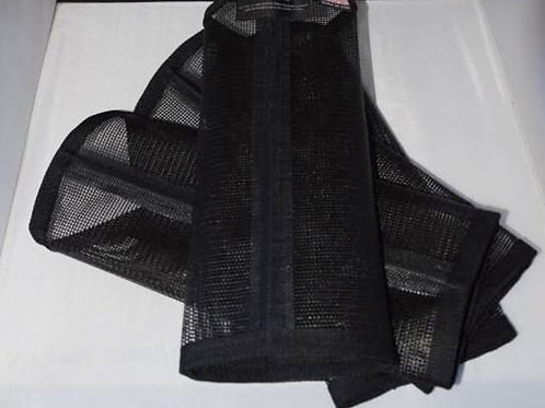 Fly Leggings, Fly Wrap, Fly protection, Fly boots, Sassari fly leggings Black x4