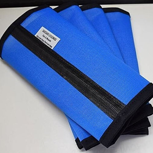 Fly Wraps, Fly Protection, Fly Boots, Horse Fly Leggings 90% Royal Blue