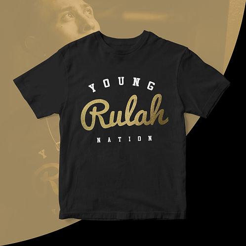 Young Rulah - Black & Gold