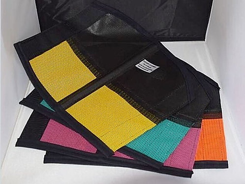 Wound protection, set x 4 Rainbow color, give every leg a stunning look!