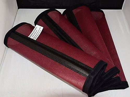 Fly Boots, Horse Fly Leggings 90% Leight Weight, Burgundy