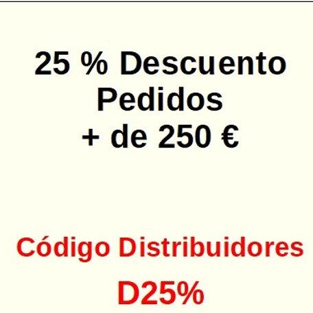FACTURACION 250 € =  -25%