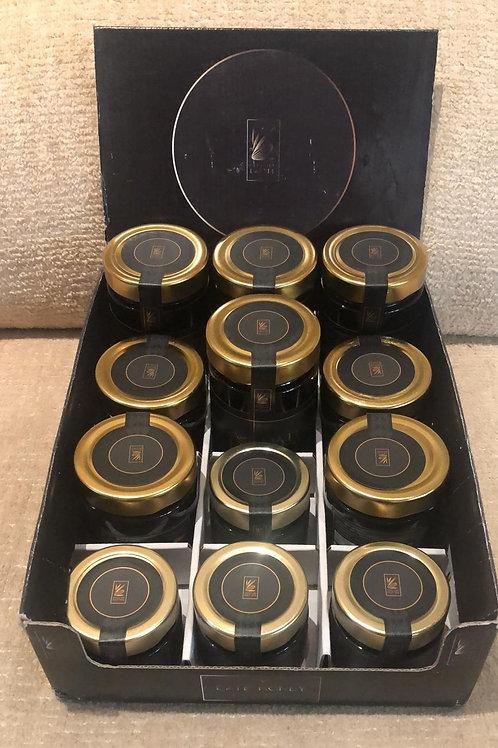 Miel de Dátil caja surtida 12 uds. 4 botes de cada tamaño