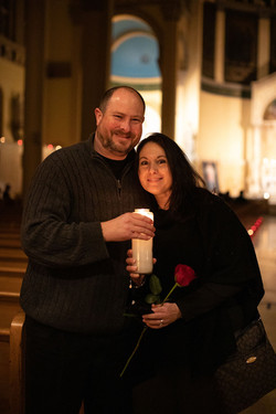 Feb 13, 2021 Renewal of Vows Candlelight Mass