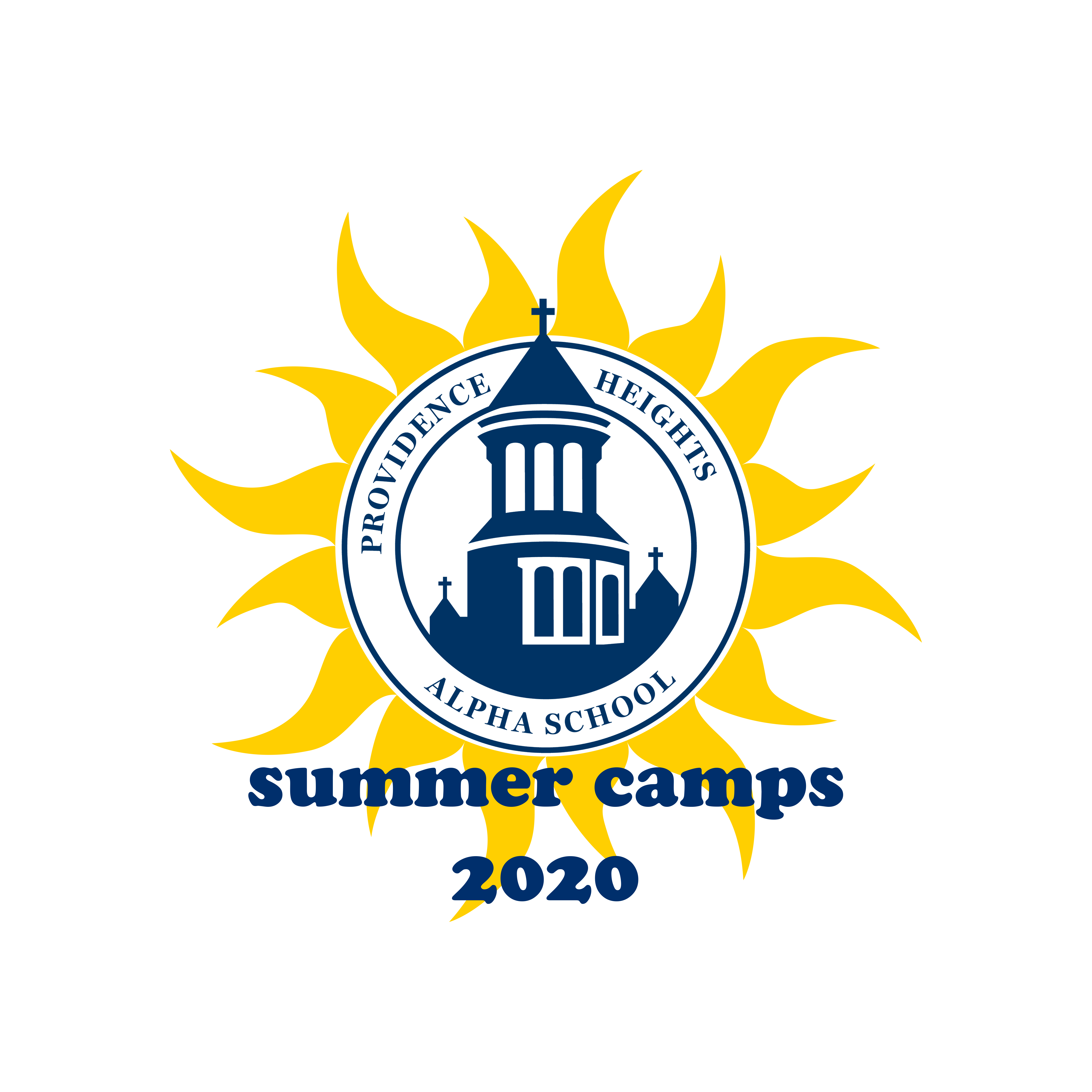 NEW summer camp logo 2020 with border