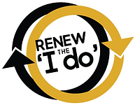 Renew the I do logo with reverse tilted.