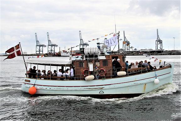 Havnerundfart, St. Bededag 8. maj . 7 pladsser ombord