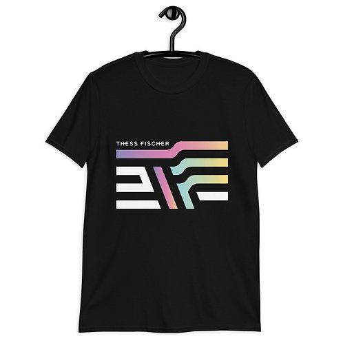 Thesslandia Black Short-Sleeve Unisex T-Shirt