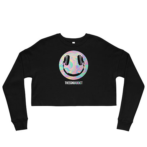Thessno Addict Crop Sweatshirt
