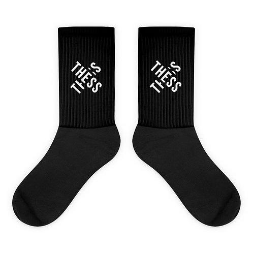 Thess X Black Socks