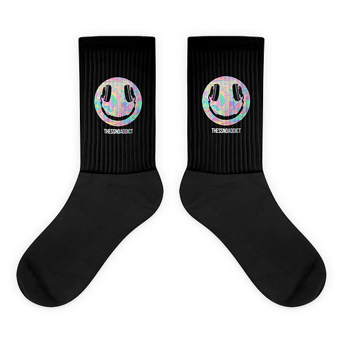 Thessno Addict Black Socks