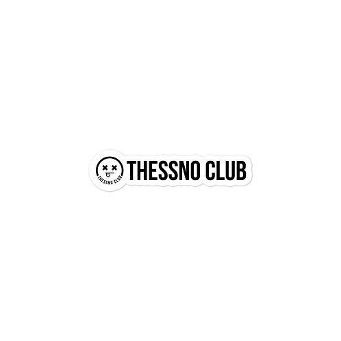 Thessno Club Sticker