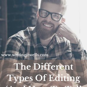 The Different Types Of Editing (And How To Tell Them Apart)