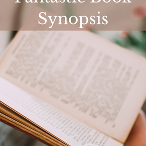 How To Write A Fantastic Book Synopsis