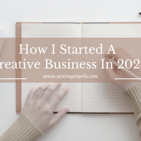 How I Built A Creative Business In Chaotic 2020
