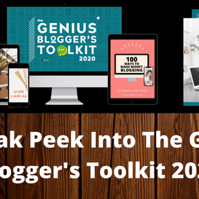 A Sneak Peek Into The Genius Blogger's Toolkit 2020