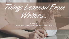 #ThingsLearnedFromWritersThurs: Throne of Glass by Sarah J. Maas