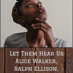 Acknowledgement Series: Alice Walker, Ralph Ellison, Maya Angelou, and Richard Wright