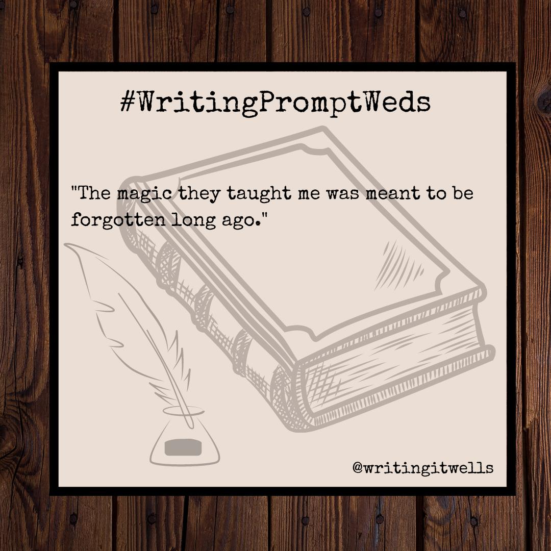 #WritingPromptWeds(29)