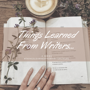 #ThingsLearnedFromWritersThurs: Song of the Lioness Series by Tamora Pierce