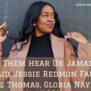 Acknowledgement Series: Jamaica Kincaid, Jessie Redmon Fauset, Angie Thomas, Gloria Naylor