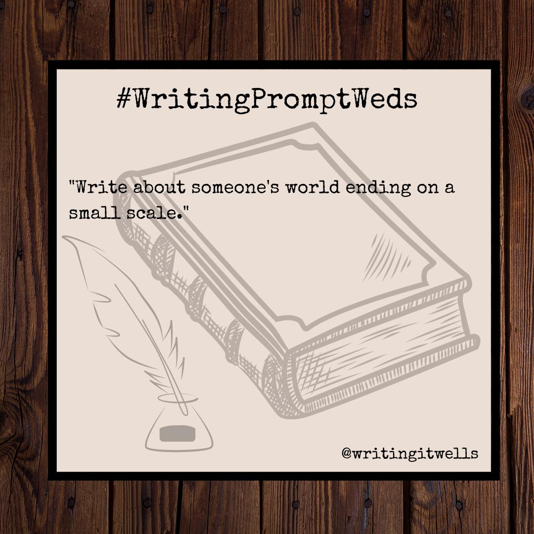 #WritingPromptWeds(41)