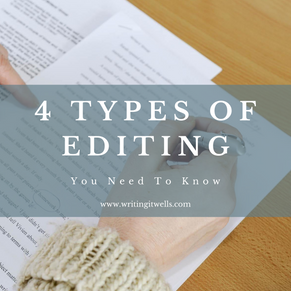 4 Types of Editing You Need To Know