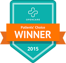 Dr. Leader is a Patient's choice award winner