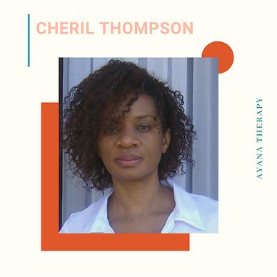 Dr. Cheril Thompson