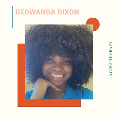 Geowanda Dixon