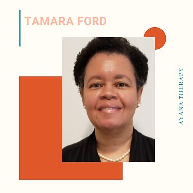 Dr Tamara Ford