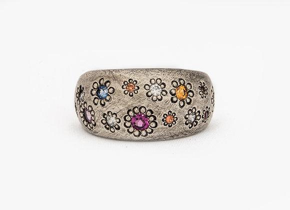 Multi Coloured Maisy Ring