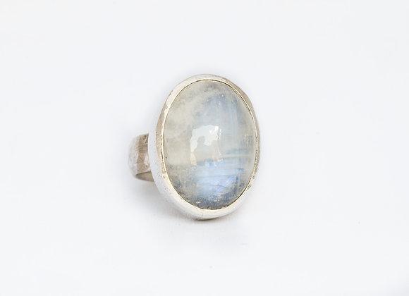 Blue Moonstone Ring