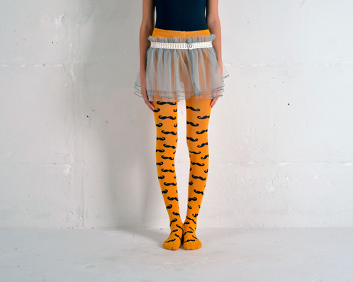 infant-girls-black-and-yellow-tights