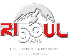 logo risoul 50ans - restaurant les 3 ours