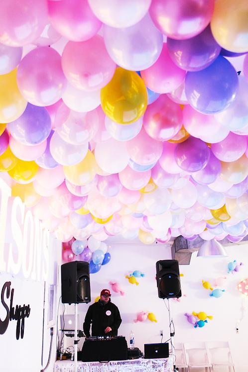 """【10個裝】10"""" 啞光圓形乳膠氣球 Thicker Matte Balloon"""