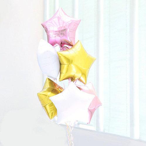 Star Star Bouquet-PINK X GOLD X WHITE