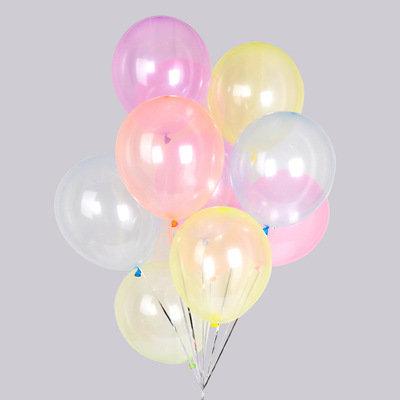 "12"" 圓形水晶汽球 Crystal Balloon"