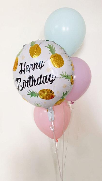 Birthday Bouquet 3- Pineapple MINI