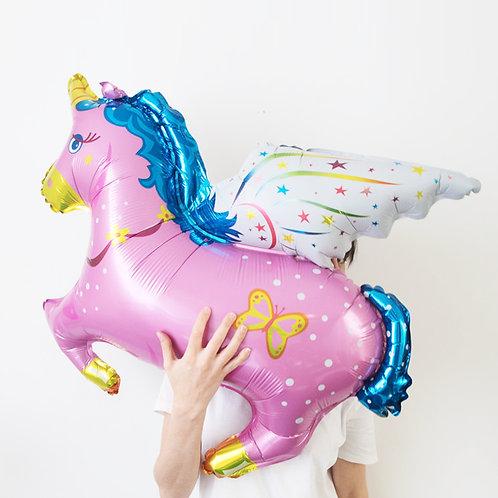 獨角獸 鋁氫氣球 Unicorn Balloon
