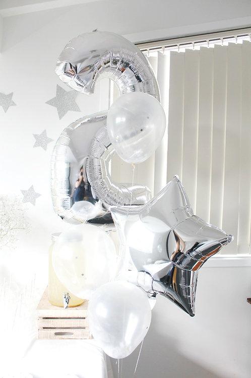 """30"""" 數字氣球套餐 Number Balloon Package"""