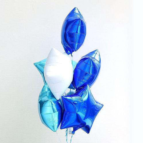 Star Star Bouquet-SKY BLUE X BLUE X WHITE