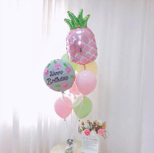 Birthday Bouquet 2- Pineapple