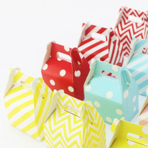 12件裝 派對甜品 外帶禮盒 Party Gable Paper Boxes