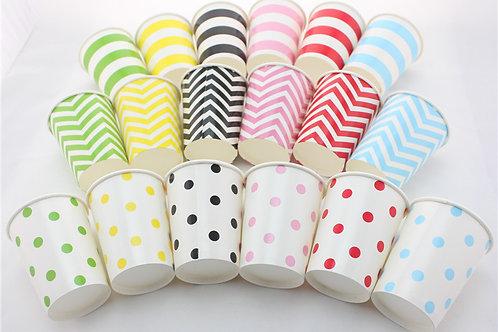 12隻裝 彩色紙杯 Paper Cups