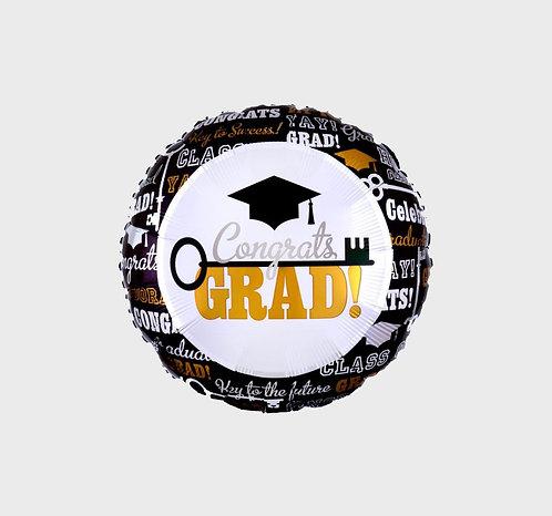 """18""""畢業氣球 Graduation Balloon"""